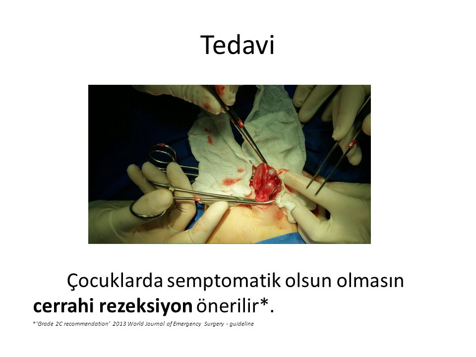 Tedavi Children with painless lower gastrointestinal bleeding.