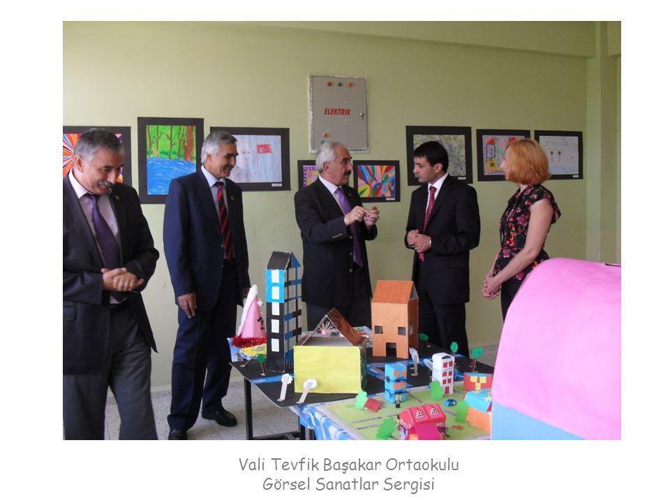 Vali Tevfik Başakar Ortaokulu Görsel Sanatlar Sergisi