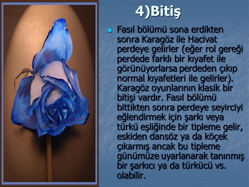 4)Bitiş