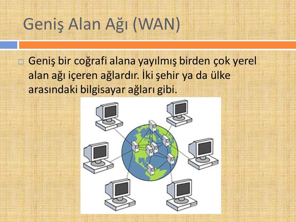 Geniş Alan Ağı (WAN)