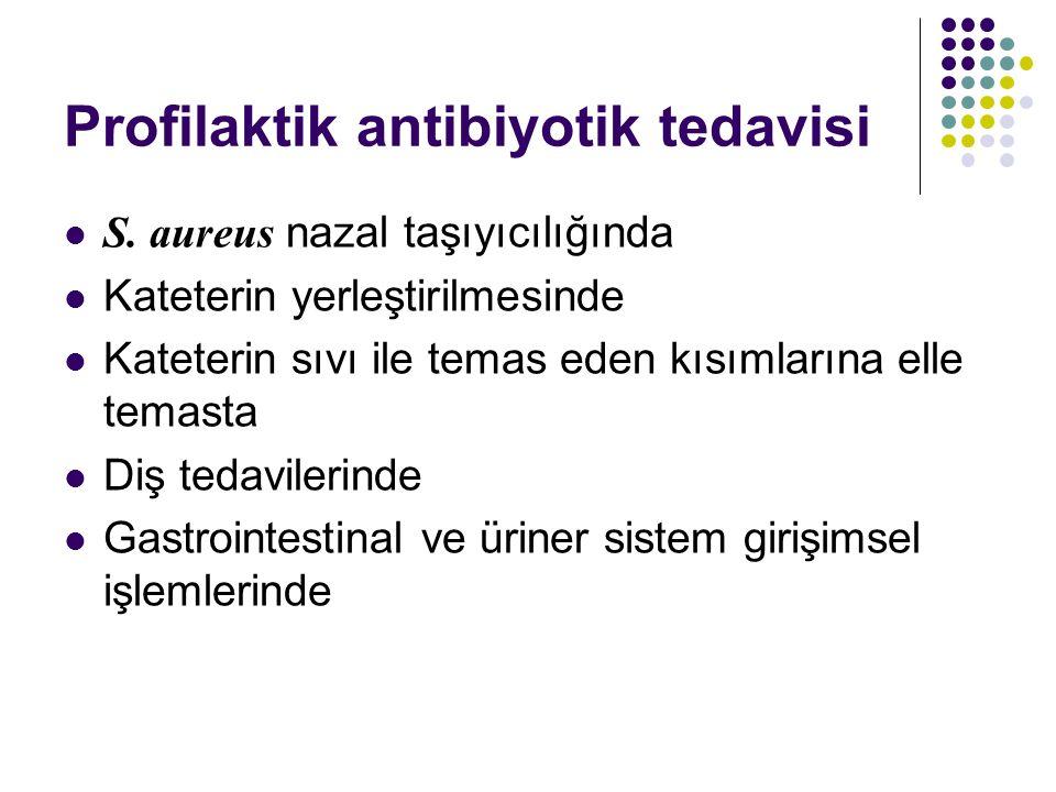 Profilaktik antibiyotik tedavisi
