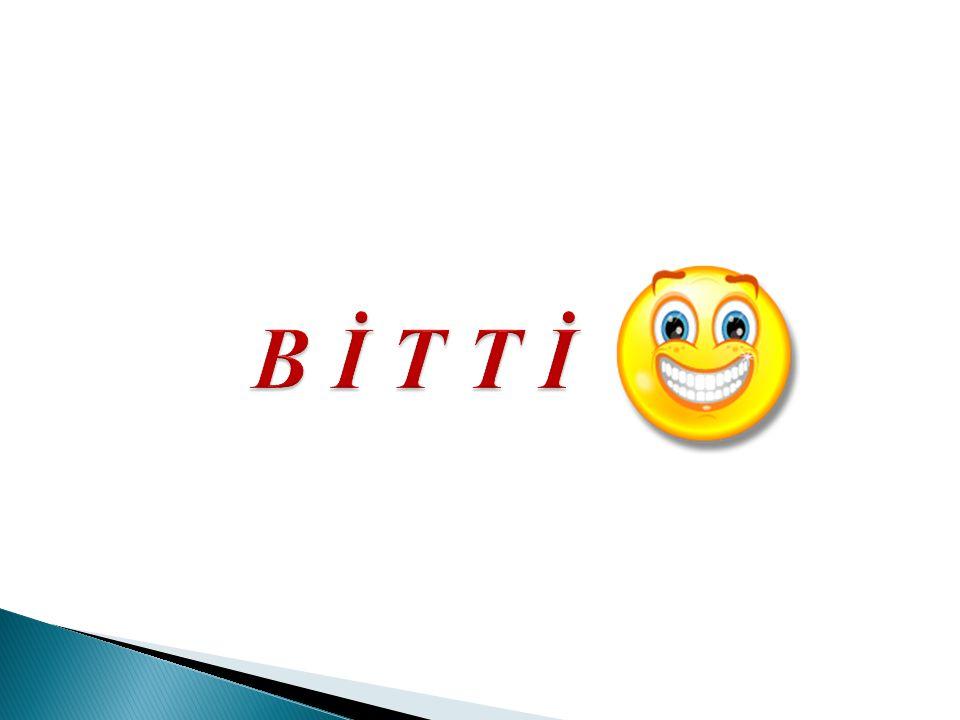 B İ T T İ
