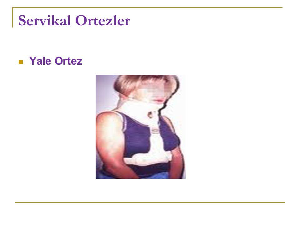 Servikal Ortezler Yale Ortez