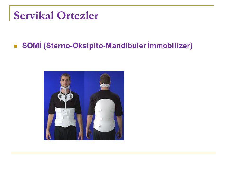 Servikal Ortezler SOMİ (Sterno-Oksipito-Mandibuler İmmobilizer)