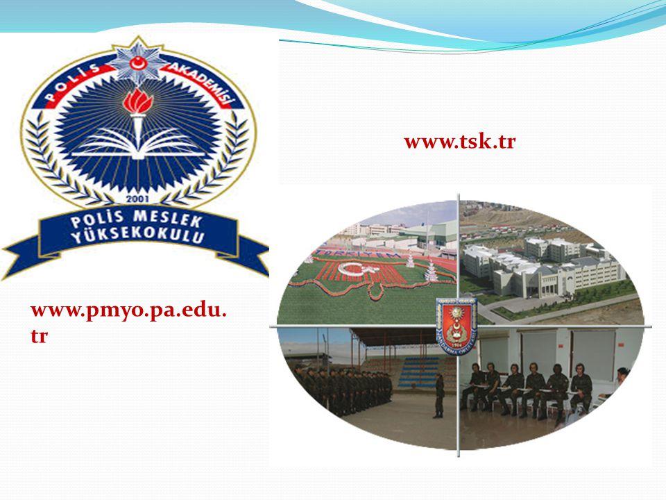 www.tsk.tr www.pmyo.pa.edu.tr