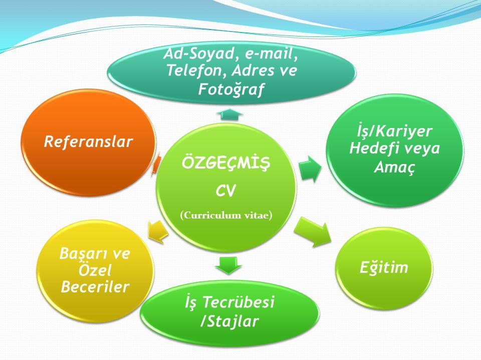 Ad-Soyad, e-mail, Telefon, Adres ve Fotoğraf