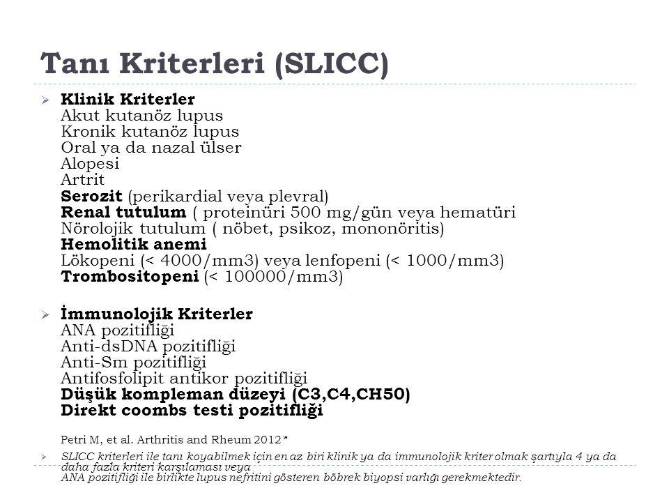 Tanı Kriterleri (SLICC)