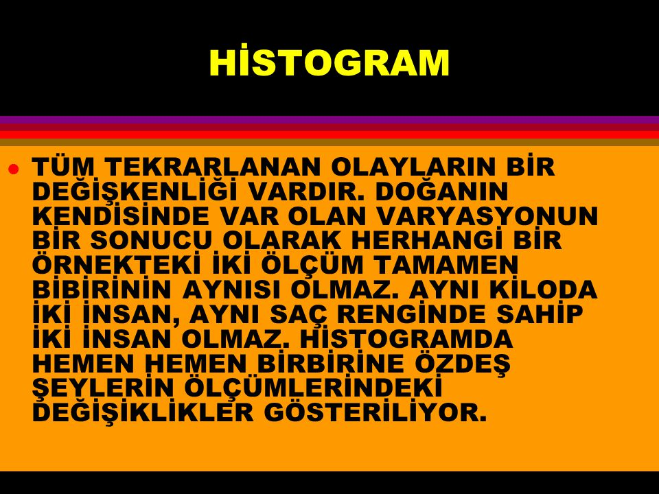 HİSTOGRAM