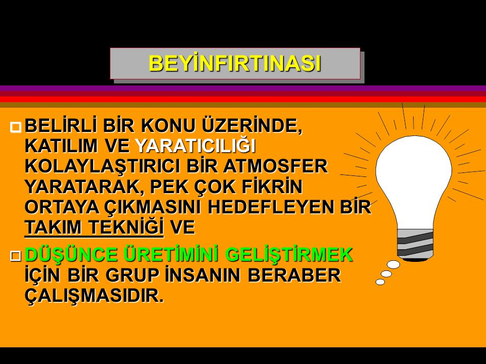 BEYİNFIRTINASI