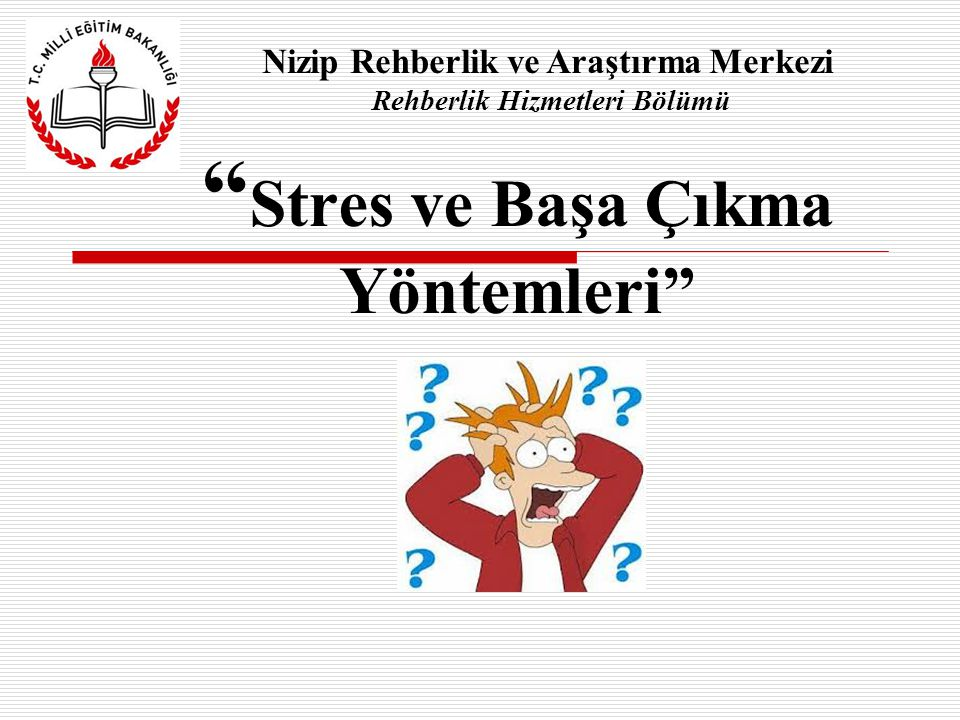 Stres ve Başa Çıkma Yöntemleri