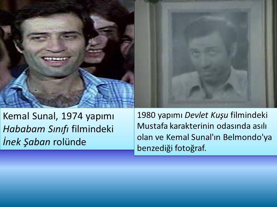 Kemal Sunal, 1974 yapımı Hababam Sınıfı filmindeki İnek Şaban rolünde