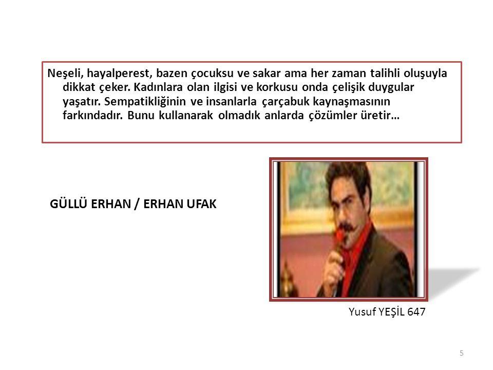 GÜLLÜ ERHAN / Erhan Ufak