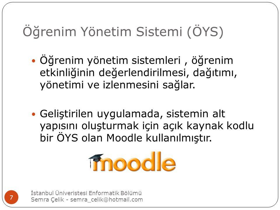Öğrenim Yönetim Sistemi (ÖYS)