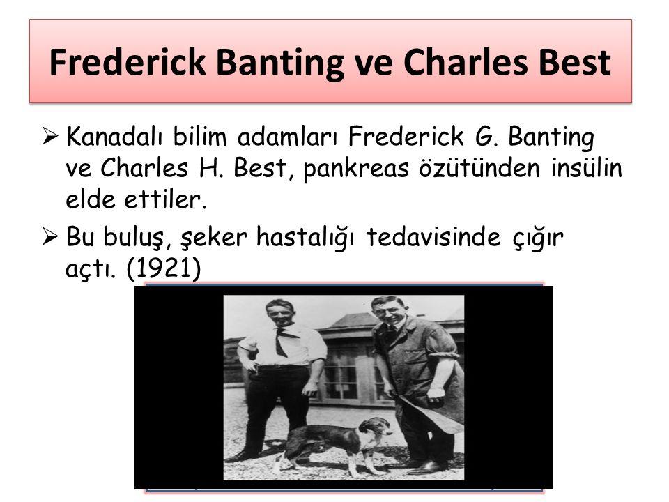 Frederick Banting ve Charles Best