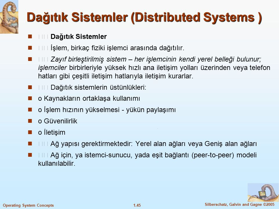 Dağıtık Sistemler (Distributed Systems )
