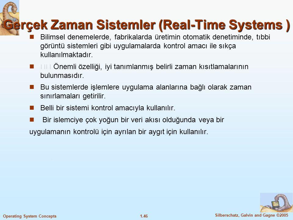 Gerçek Zaman Sistemler (Real-Time Systems )
