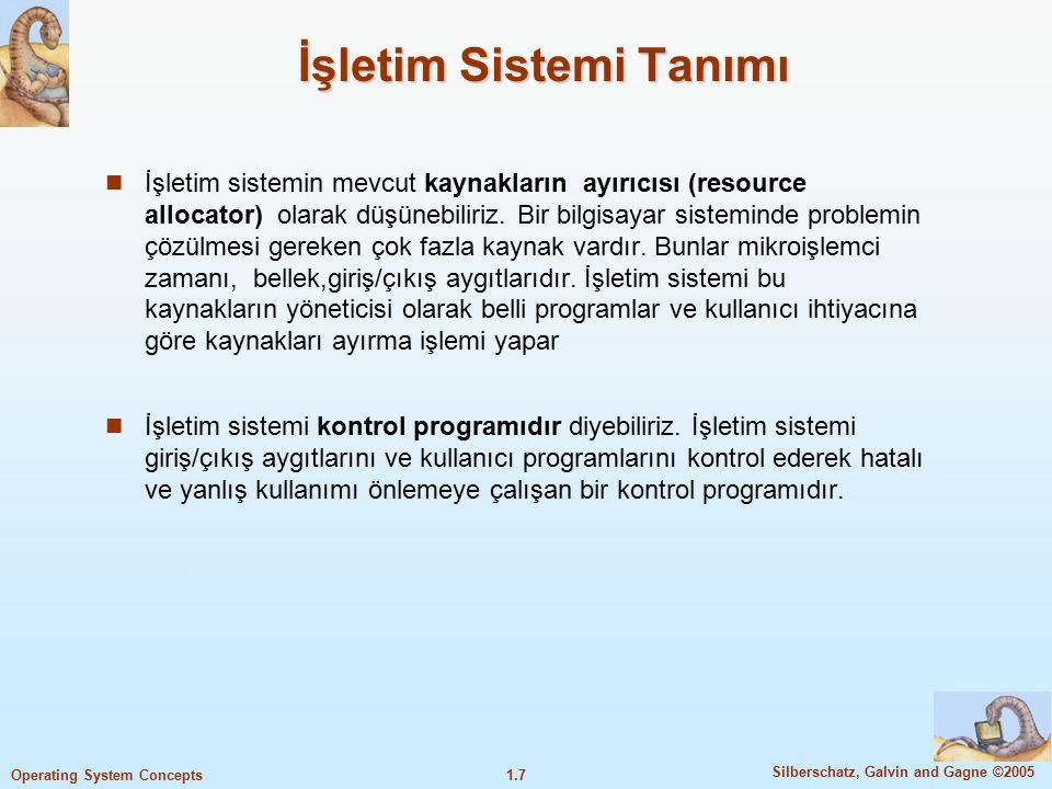 İşletim Sistemi Tanımı
