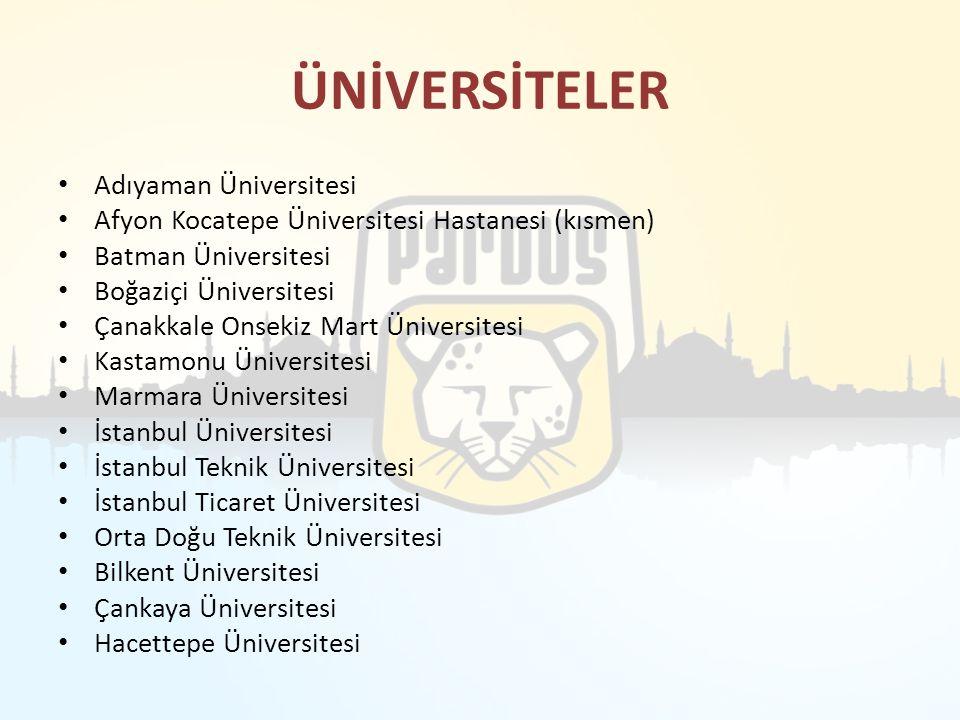 ÜNİVERSİTELER Adıyaman Üniversitesi