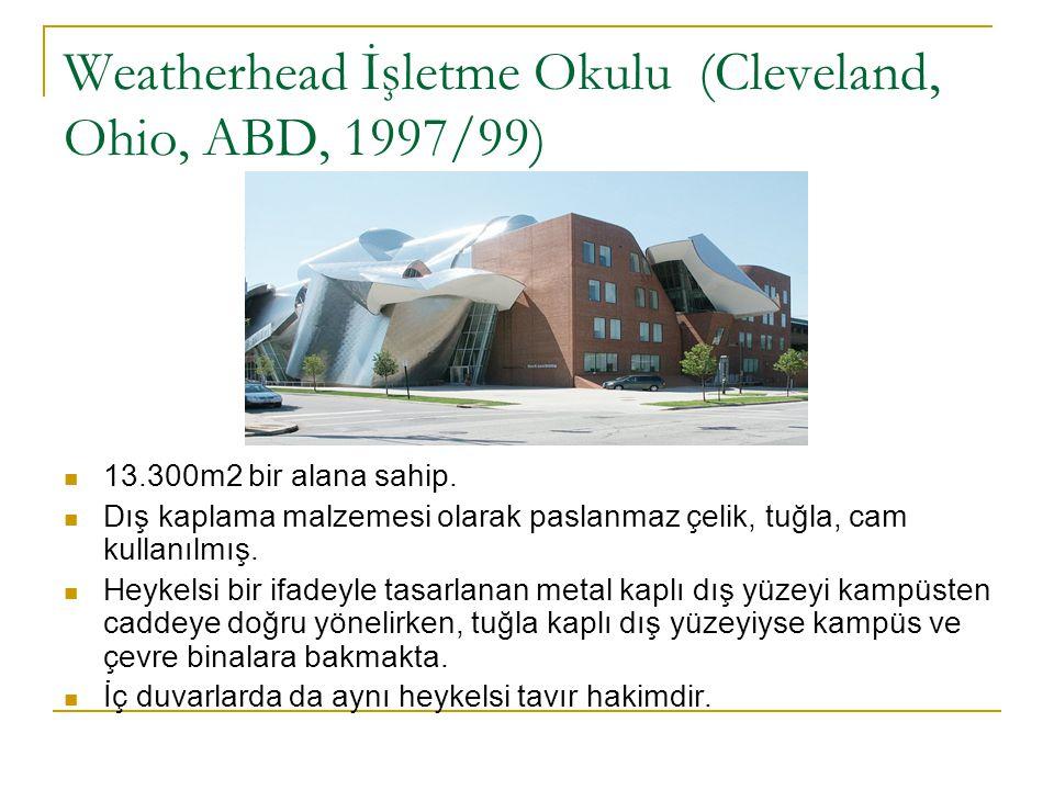 Weatherhead İşletme Okulu (Cleveland, Ohio, ABD, 1997/99)