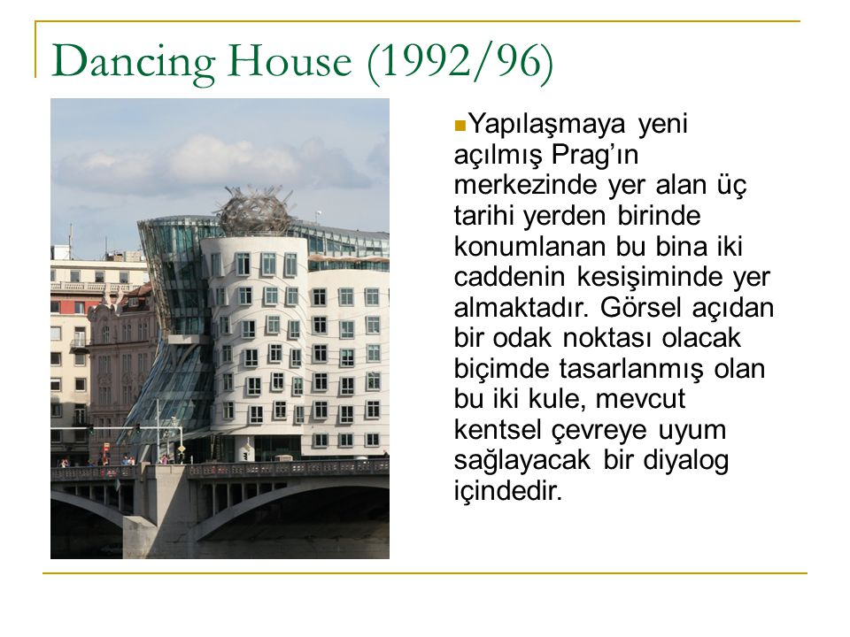 Dancing House (1992/96)