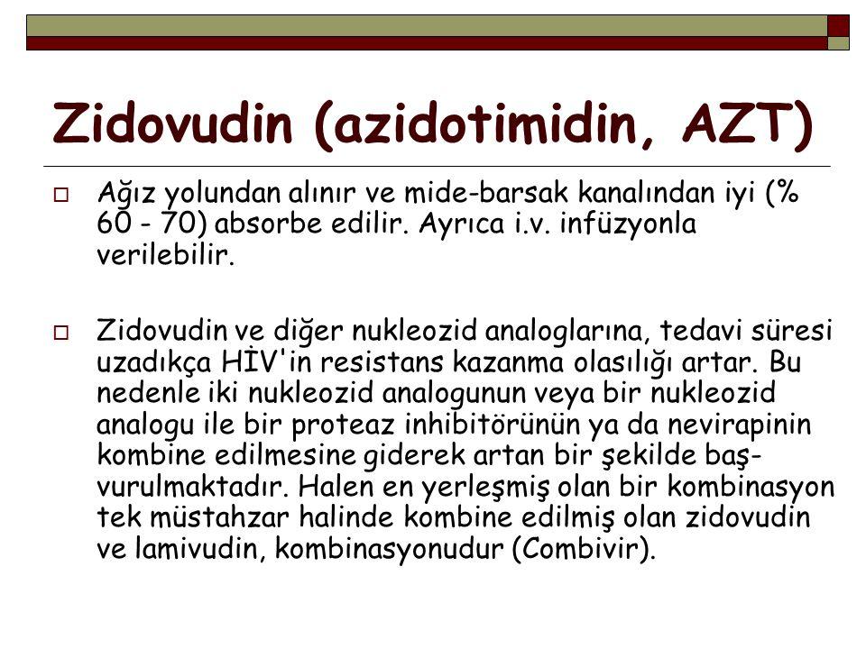 Zidovudin (azidotimidin, AZT)