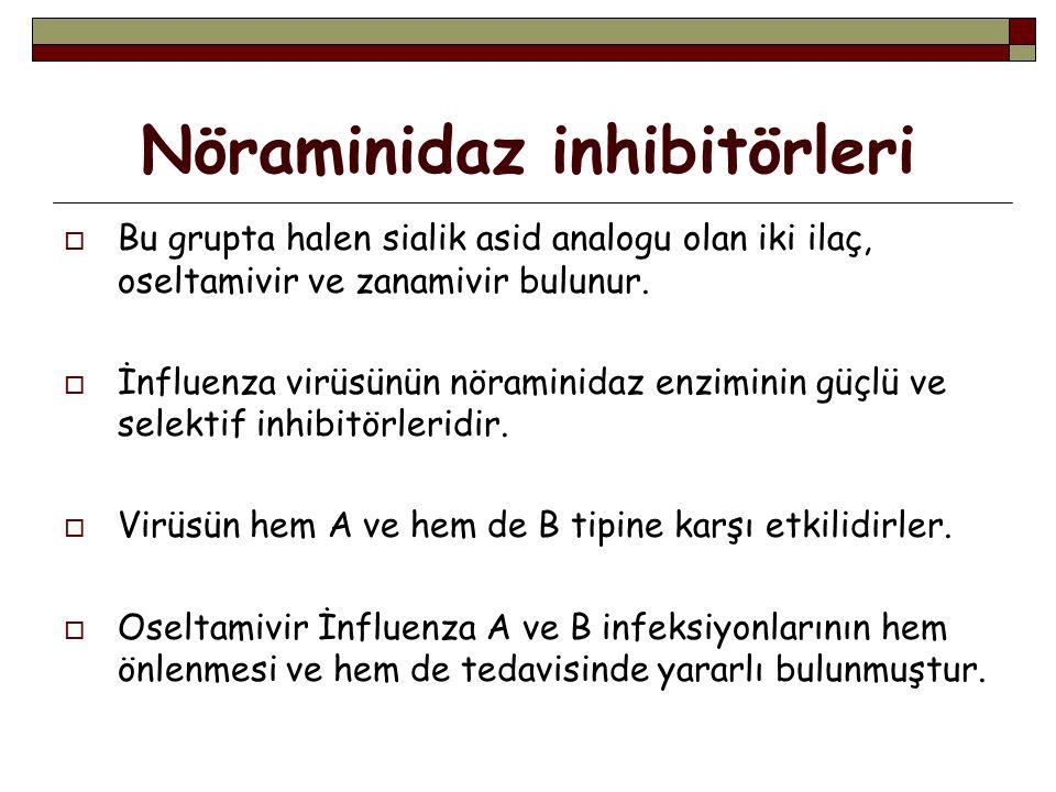 Nöraminidaz inhibitörleri