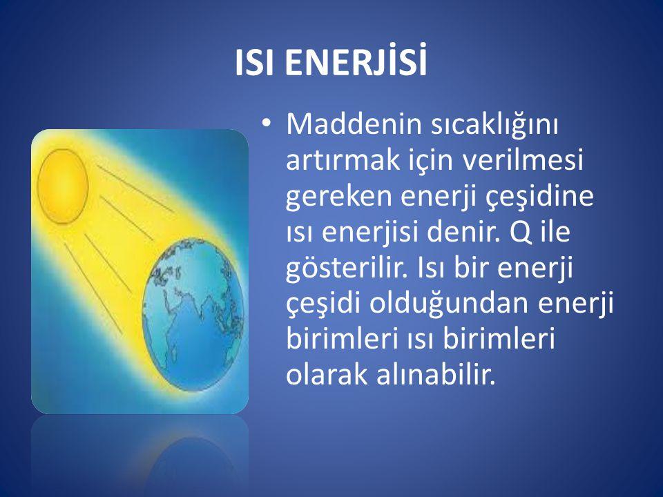 ISI ENERJİSİ