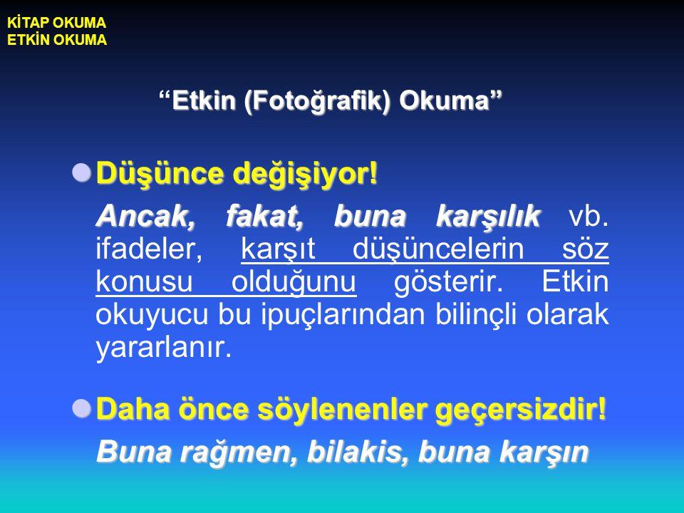 Etkin (Fotoğrafik) Okuma