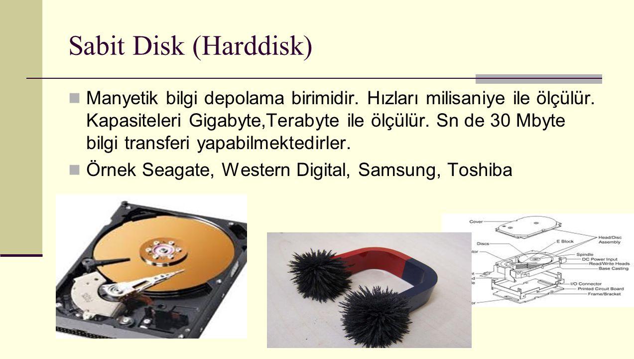 Sabit Disk (Harddisk)