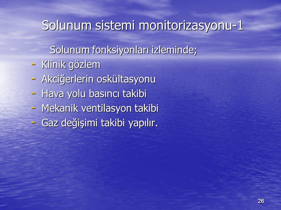Solunum sistemi monitorizasyonu-1