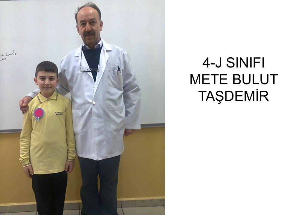 4-J SINIFI METE BULUT TAŞDEMİR