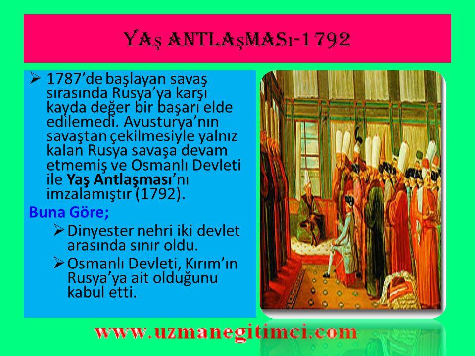Yaş antlaşması-1792