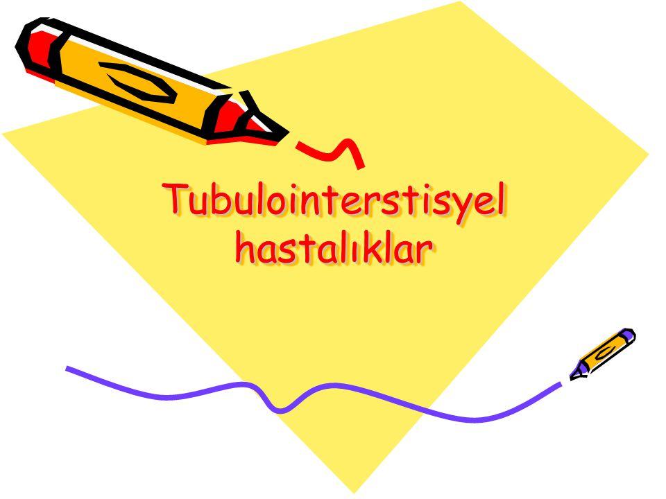 Tubulointerstisyel hastalıklar