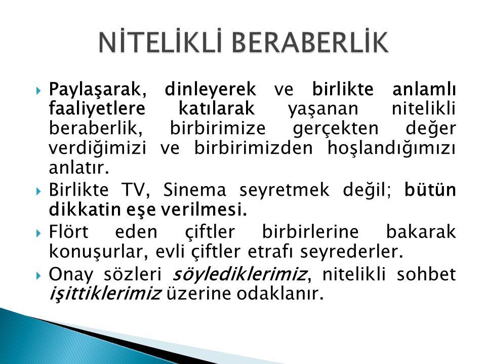 NİTELİKLİ BERABERLİK