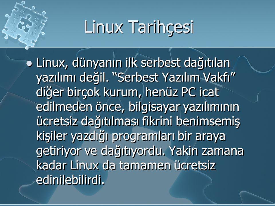 Linux Tarihçesi