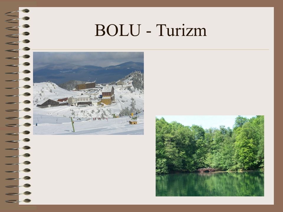 BOLU - Turizm