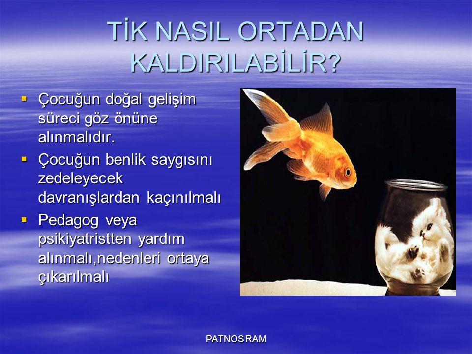 TİK NASIL ORTADAN KALDIRILABİLİR