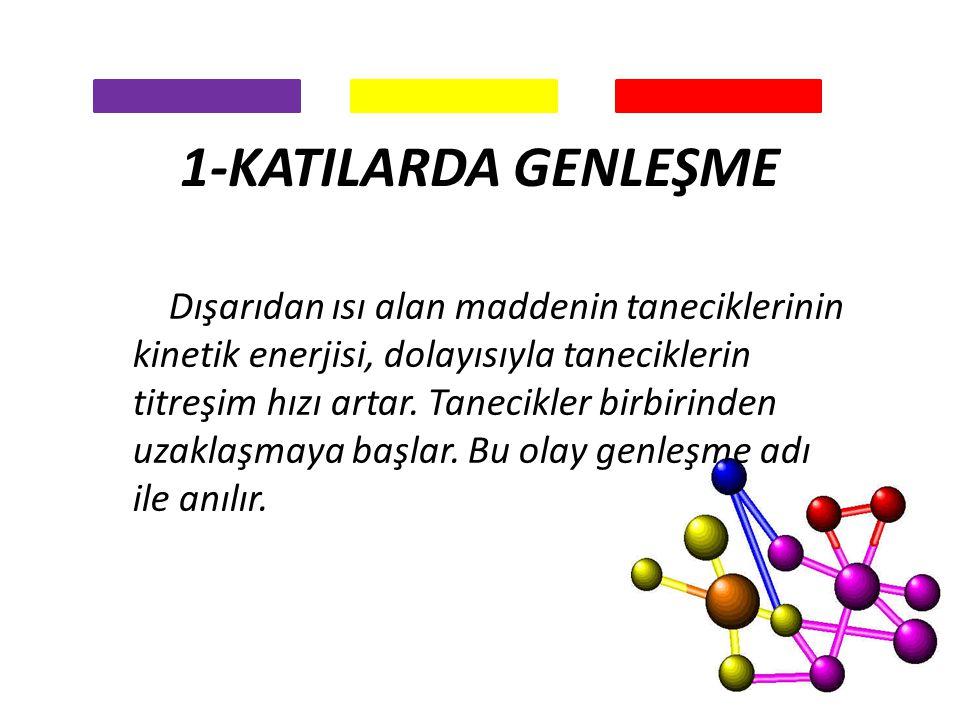 1-KATILARDA GENLEŞME