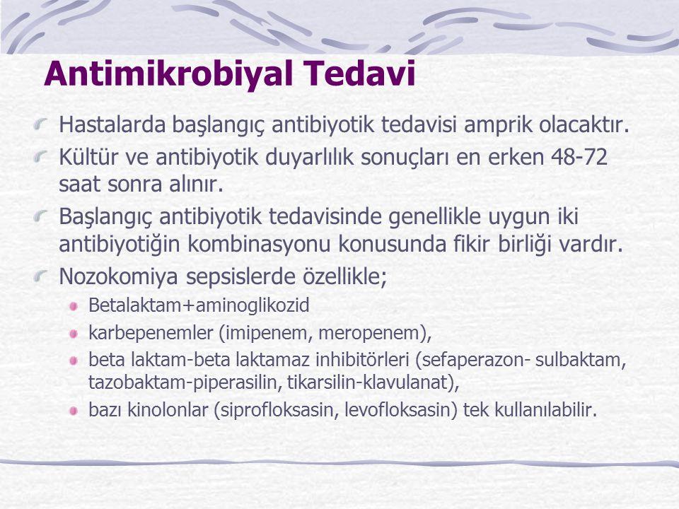Antimikrobiyal Tedavi