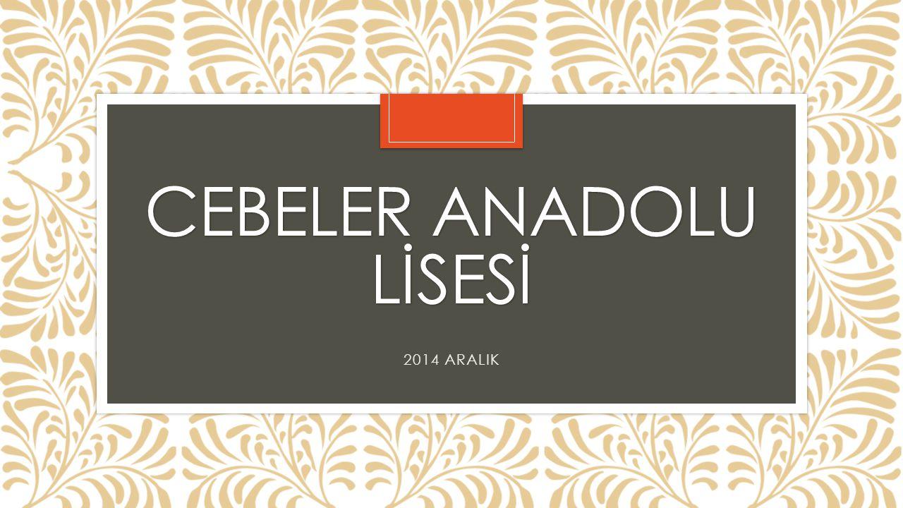 CEBELER ANADOLU LİSESİ