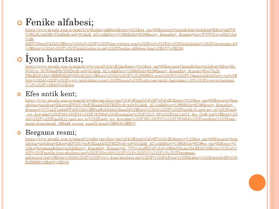 Fenike alfabesi; https://www. google. com. tr/search