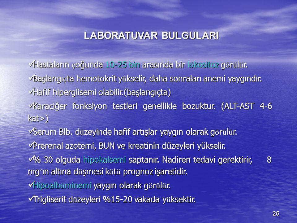 LABORATUVAR BULGULARI