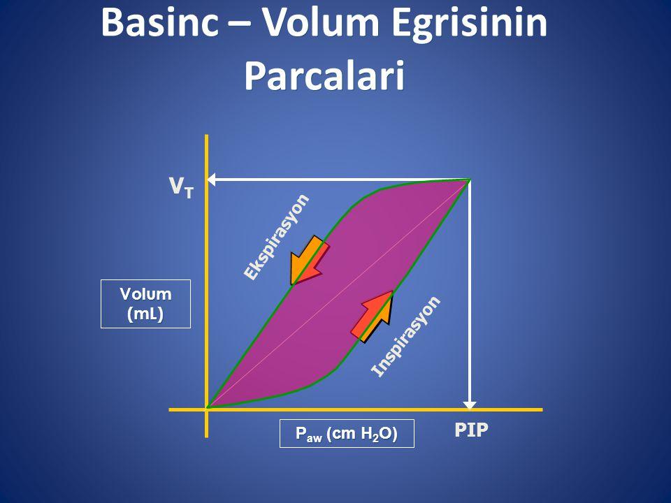 Basinc – Volum Egrisinin Parcalari