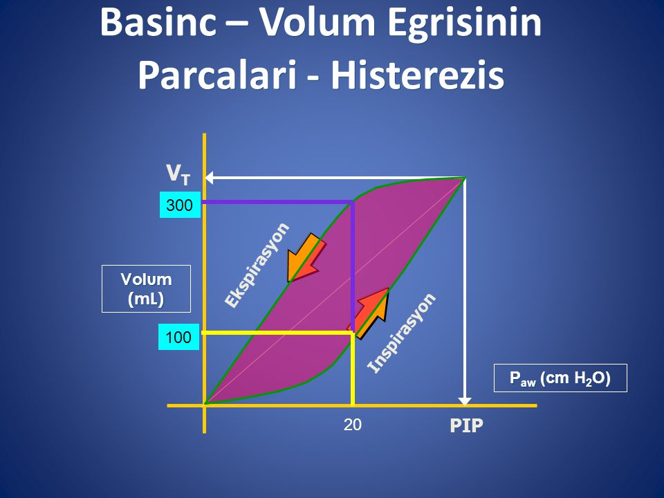 Basinc – Volum Egrisinin Parcalari - Histerezis
