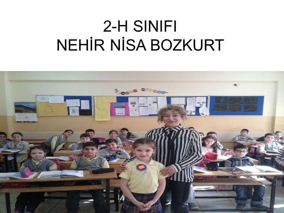 2-H SINIFI NEHİR NİSA BOZKURT