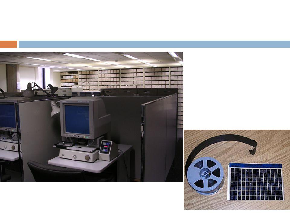 Mikroformlar (= mikrofişler, mikrofilmler)…