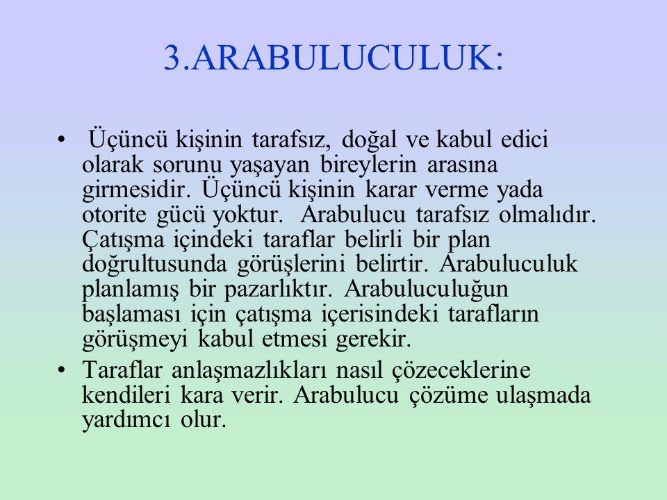 3.ARABULUCULUK: