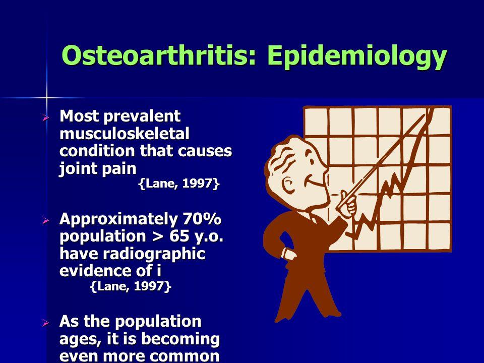 Osteoarthritis: Epidemiology