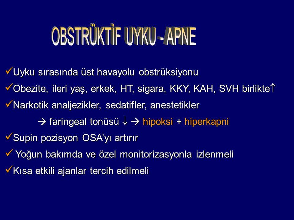 Uyku sırasında üst havayolu obstrüksiyonu