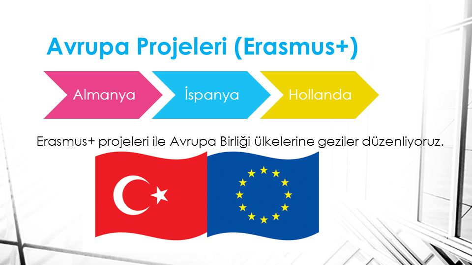 Avrupa Projeleri (Erasmus+)